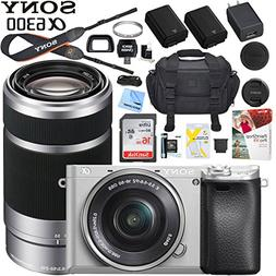 Sony a6300 4K Mirrorless Camera ILCE-6300L/S with 16-50mm &