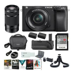 Sony a6400 Mirrorless Digital Camera Bundle with 16-50mm and