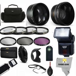 PROFESSIONAL ACCESSORY KIT FOR NIKON COOLPIX P900. INCLUDES