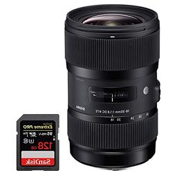 Sigma AF 18-35MM F/1.8 DC HSM ART Lens for Sony SLR  with Sa