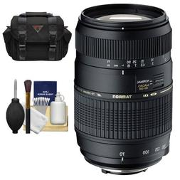 Tamron AF 70-300mm F/4-5.6 Di LD Macro Lens + Case + Accesso