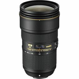 Nikon AF-S NIKKOR 24-70mm f/2.8E ED VR Lenses