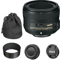 Nikon 50mm f/1.8G AF-S Lens for Nikon Digital SLR Cameras