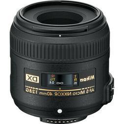Nikon AF-S DX Micro NIKKOR 40mm f/2.8G Lens  - 2200