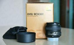 Nikon AF-S FX NIKKOR 50mm f/1.8G Lens for Nikon