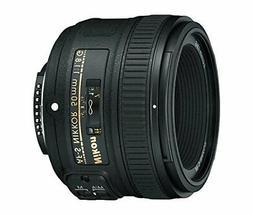 Nikon AF-S FX NIKKOR 50mm f/1.8G Lens with Auto Focus for Ni