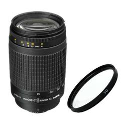 Nikon AF Zoom Nikkor 70-300mm f/4-5.6G Lens +  For DSLR Came