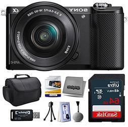 Sony Alpha A5000 20.1 MP Interchangeable Mirrorless Lens Cam