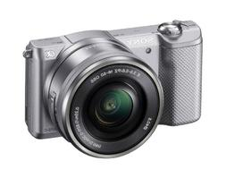 Sony Alpha a5000 Mirrorless Camera with 16-50mm Retractable