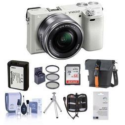 Sony Alpha A6000 Mirrorless Digital Camera with 16-50mm E-Mo