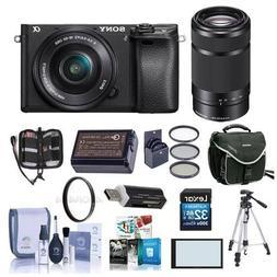 Sony Alpha A6000 Mirrorless Digital Camera with 16-50mm f/3.