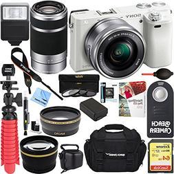 Sony Alpha a6000 24MP Mirrorless Camera 16-50mm & 55-210mm Z