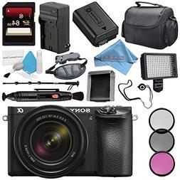 Sony Alpha a6500 Mirrorless Digital Camera with 18-135mm Len