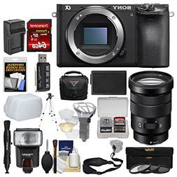 Sony Alpha A6500 4K Wi-Fi Digital Camera Body with 18-105mm