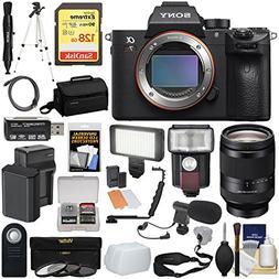Sony Alpha A7R III 4K Wi-Fi Digital Camera Body with FE 24-2
