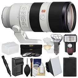 Sony Alpha E-Mount FE 70-200mm f/2.8 GM OSS Zoom Lens with F
