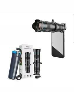 Apexel Mobile Smartphone Camera Lens Tele 28X Metal Telescop