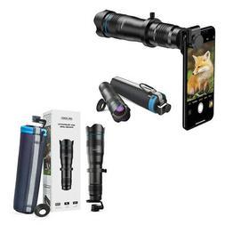 Apexel Mobile Smartphone Camera Lens Tele 36X Metal Telescop