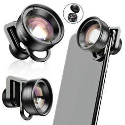 Apexel Smartphone Camera Mobile Phone Lens 100Mm Macro Close