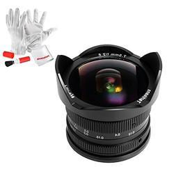 7artisans 7.5mm F2.8 Fisheye Fixed Lens for Olympus Panasoni