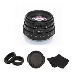 35mm F1.6 APS-C Television TV Lens/CCTV Lens For 16mm C Moun