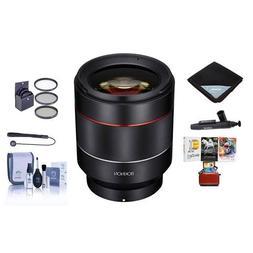 Rokinon Auto Focus 50mm f/1.4-16 FE Lens for Sony E-Mount -