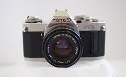 Canon AV-1 35mm SLR Camera with Canon FD 50mm 1:1.8 Lens