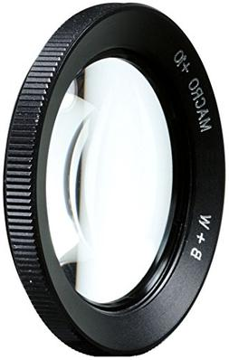 B + W 49mm +10 Macro Lens, Close Up Glass Filter - NL10