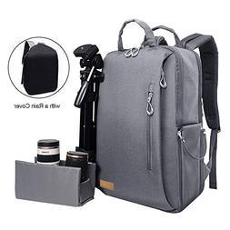 Auelife Camera Bag Waterproof Multipurpose Anti-shock DSLR C