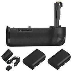 Vivitar Battery Grip for Canon 5D Mark IV  with compatible 2