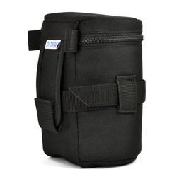 black thick zipped nylon weatherproof