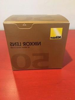 *Brand New Sealed Nikon AF FX NIKKOR 50mm f/1.8D Lens for Ni
