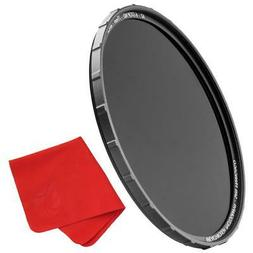 Breakthrough Photography 46mm X4 6-Stop Fixed ND Filter for Camera Lenses Schott B270 Glass Nanotec Weather-Sealed Ultra-Slim Neutral Density Professional Photography Filter MRC16