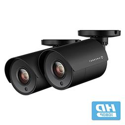 2-Pack Amcrest Full HD 1080P Bullet Outdoor Security Camera