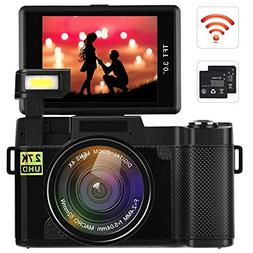 Digital Camera Camcorder Full HD 1080P Video Camera DIWUER 2