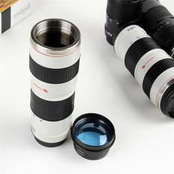 camera lens coffee mug stainless steel travel