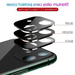 Camera Lens Protector Case For iPhone 11 Pro Max Tempered Gl