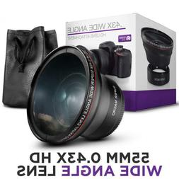 Camera Photo Pro Wide Angle Lens w/ Macro for Nikon and Sony