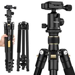 camera tripod k f concept aluminum tm2324 inch ball head qui