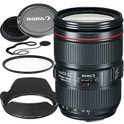 Canon 24–105mm f/4L IS II USM Lens  Bundle
