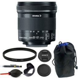 Canon EF-S 10-18mm f/4.5-5.6 IS STM Lens 67mm Kit for Digita