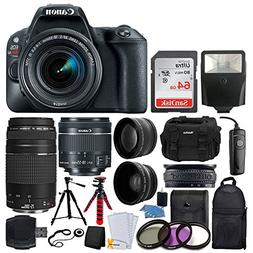 Canon EOS Rebel SL2 DSLR Camera + EF-S 18-55mm IS STM + EF 7