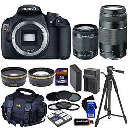 Canon EOS Rebel T5 DSLR Camera with 18-55mm IS II & 75-300mm
