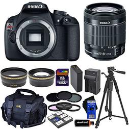 Canon EOS Rebel T5 Digital SLR Camera with EF-S 18-55mm IS I
