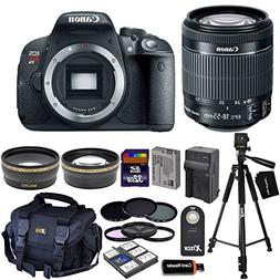 Canon EOS Rebel T5i Digital SLR Camera with EF-S 18-55mm IS