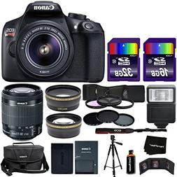 Canon EOS Rebel T6 DSLR Camera + EF-S 18-55mm is II Lens + B