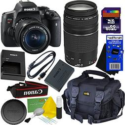 Canon EOS Rebel T6i Digital SLR Camera with EF-S 18-55 IS ST