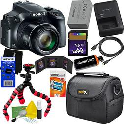 Canon Powershot SX60 HS 16.1MP Digital Camera 65x Optical Zo