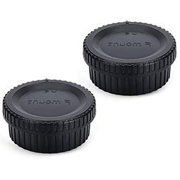 JJC Body Cap and Rear Lens Cap Kit for Nikon D7000 D7100 D5
