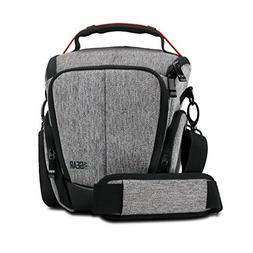 USA Gear Camera Case for Digital SLR  with Soft Cushioned In